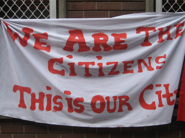 We are the city banner