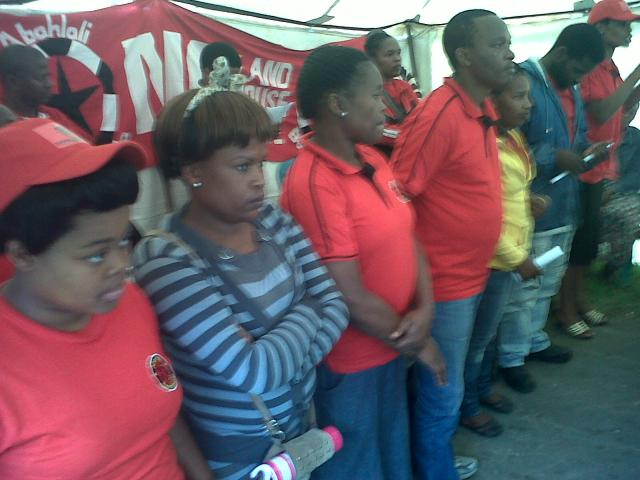 Launch of the KwaNdengezi Abahlali baseMjondolo Branch
