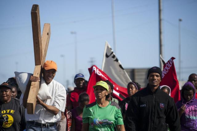 Welcome to Hell: A march through the SA townships - Cape Town, 30 March 2013